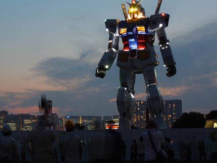 Japan Tokyo Giant Gundam Statue