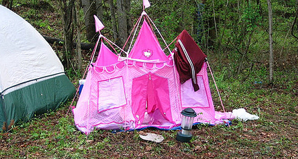 Hello Kitty Tent