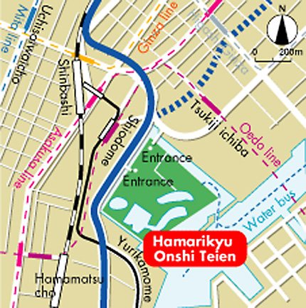 Hima Rikyu Directions Map