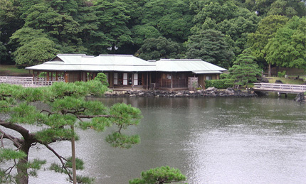 Hama Rikyu Garden Teahouse