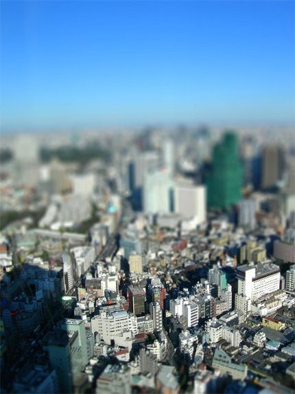 Tilt-shift Yokohama