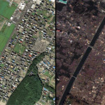 Earthquake/Tsunami Before & After Photos