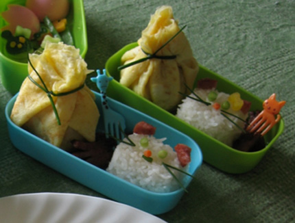 Japanese bento - finished product