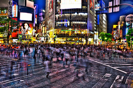 Shibuya crossing Japan