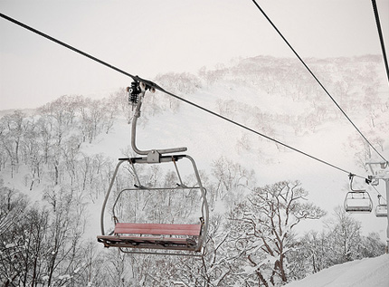 Niseko Japan chair lift