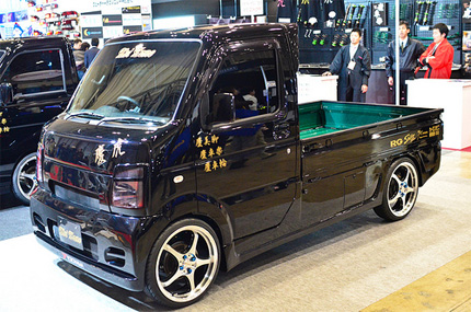 Japanese custom van
