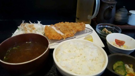It took me forever to find a tonkatsu place.
